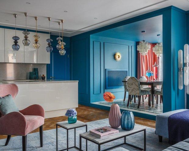 Фотография: Гостиная в стиле Современный, Knauf, Ремонт на практике, Вика Золина, Кнауф – фото на INMYROOM