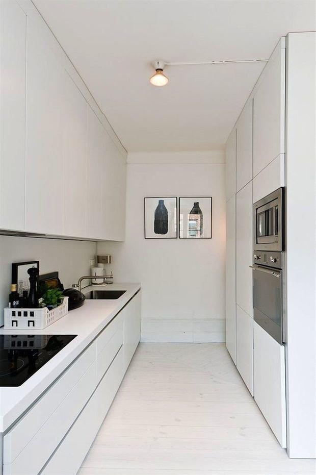 Фотография: Кухня и столовая в стиле Скандинавский, Минимализм, Перепланировка, Finish – фото на INMYROOM