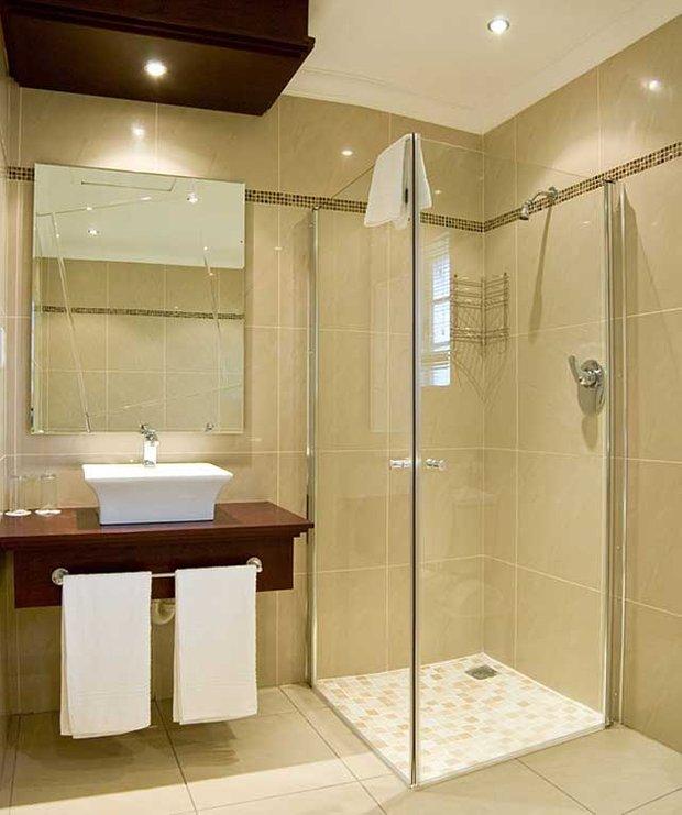 Фотография: Ванная в стиле Восточный, Малогабаритная квартира, Интерьер комнат, Советы – фото на INMYROOM