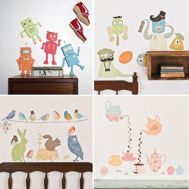 Фотография: Прочее в стиле , Детская, Интерьер комнат, Обои, Ремонт, Стены, Краска – фото на INMYROOM