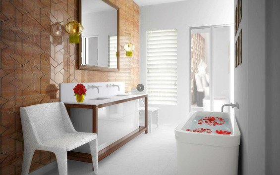 Фотография: Ванная в стиле Современный, Индустрия, Люди – фото на INMYROOM