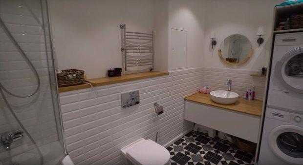 Фотография: Ванная в стиле Скандинавский, Кухня и столовая, Детская, Спальня, Гардеробная, Ремонт на практике, 3 комнаты – фото на INMYROOM
