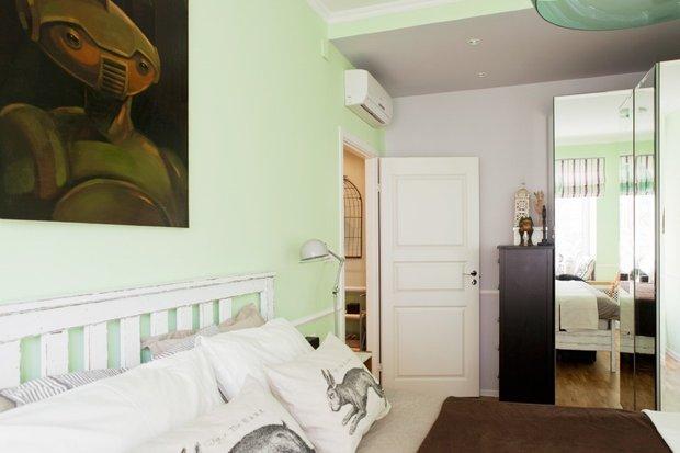 Фотография: Спальня в стиле Скандинавский, Современный, Декор интерьера, Декор дома, Картины – фото на INMYROOM