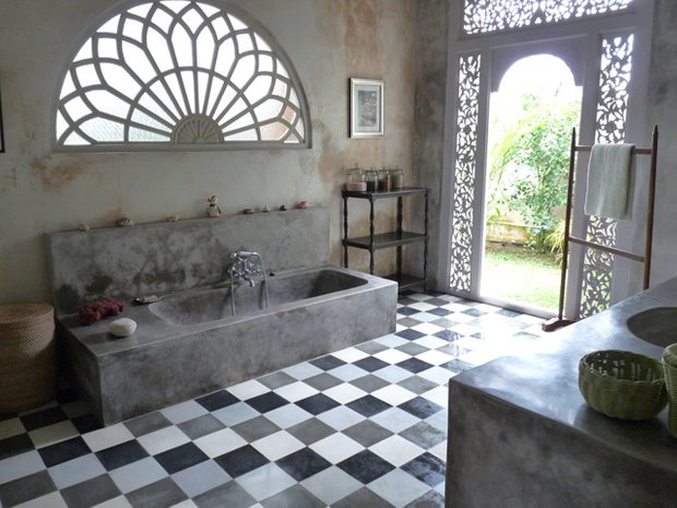 Фотография: Ванная в стиле Прованс и Кантри, Современный, Восточный, Интерьер комнат, Прованс, Ванна – фото на INMYROOM
