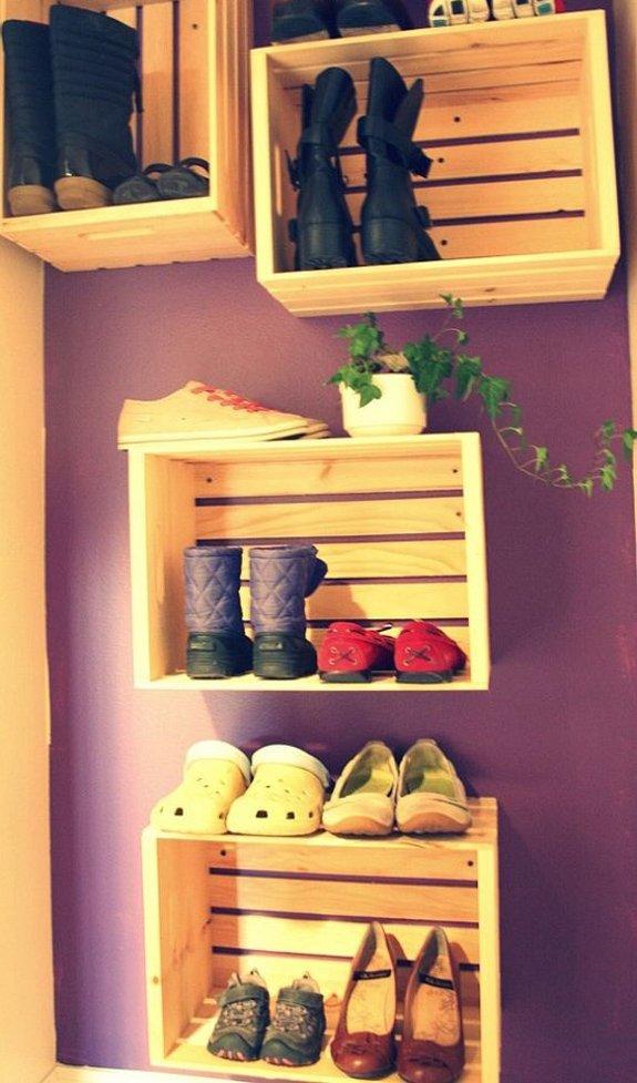 Фотография:  в стиле Прованс и Кантри, Современный, Прихожая, Интерьер комнат, Системы хранения – фото на INMYROOM