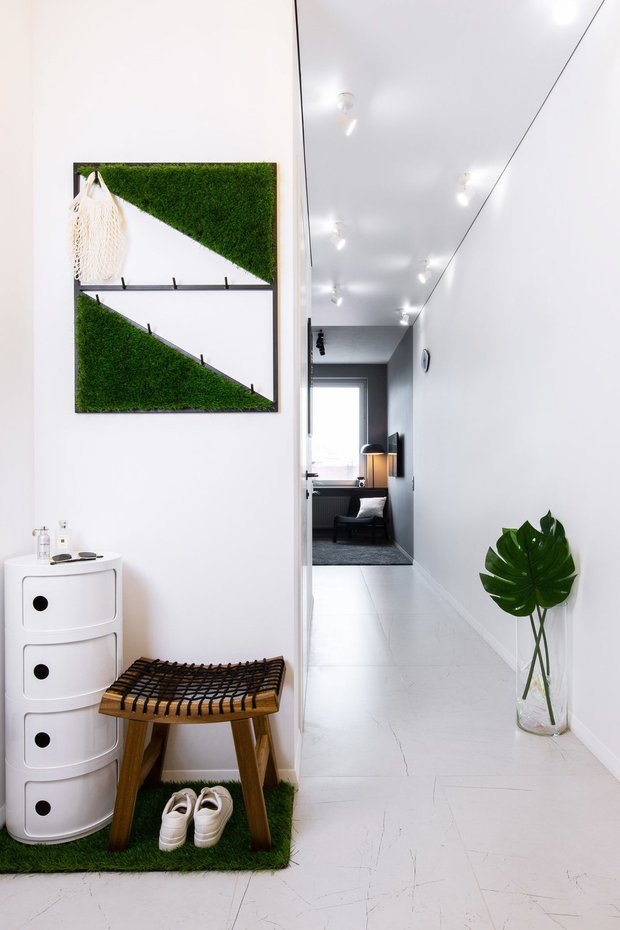 Фотография: Прихожая в стиле Скандинавский, Советы, дизайн маленькой прихожей, как оформить маленькую прихожую, до 40 метров, маленькая прихожая – фото на INMYROOM