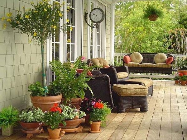 Фотография: Балкон, Терраса в стиле Прованс и Кантри,  – фото на INMYROOM