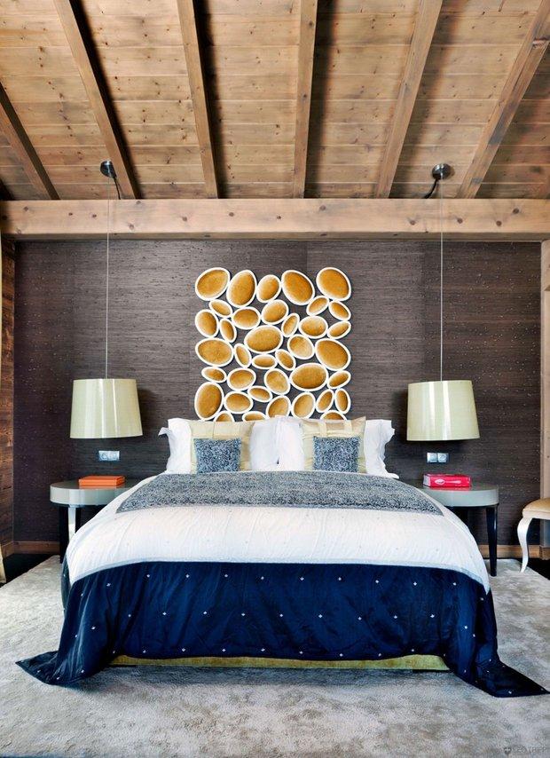 Фотография: Спальня в стиле Эклектика, Эко, Ремонт на практике – фото на INMYROOM