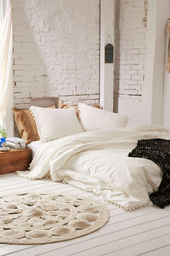 Фотография: Спальня в стиле Скандинавский, Декор интерьера, Зеленый, Бежевый, Серый, Розовый, Голубой – фото на INMYROOM