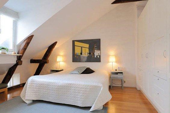 Фотография: Спальня в стиле Скандинавский, Декор интерьера, Интерьер комнат, Хрущевка – фото на INMYROOM