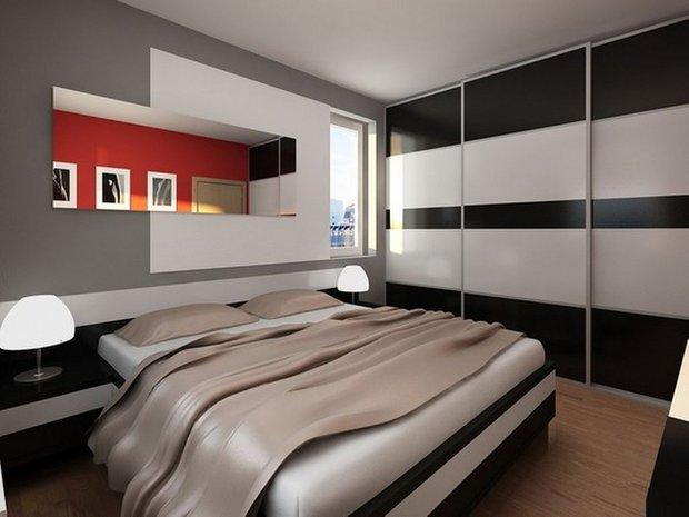 Фотография: Спальня в стиле Хай-тек, Интерьер комнат – фото на INMYROOM