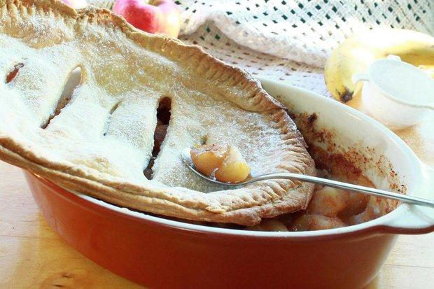 Фотография:  в стиле , Сладенького, Десерт, Выпекание, Выпечка, Английская кухня, Кулинарные рецепты, Тесто, Яблоко – фото на INMYROOM