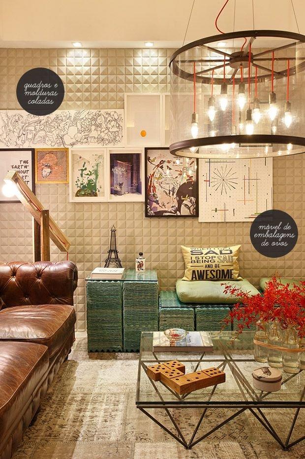 Фотография: Гостиная в стиле Восточный, Лофт, Эклектика, Декор интерьера, Швеция, Декор дома, Советы, Шебби-шик – фото на INMYROOM