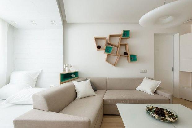 Фотография: Гостиная в стиле Минимализм, Декор интерьера, Квартира, Дом – фото на INMYROOM