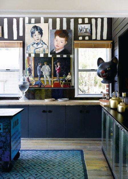 Фотография: Кухня и столовая в стиле Лофт, Скандинавский, Дома и квартиры, Интерьеры звезд – фото на INMYROOM