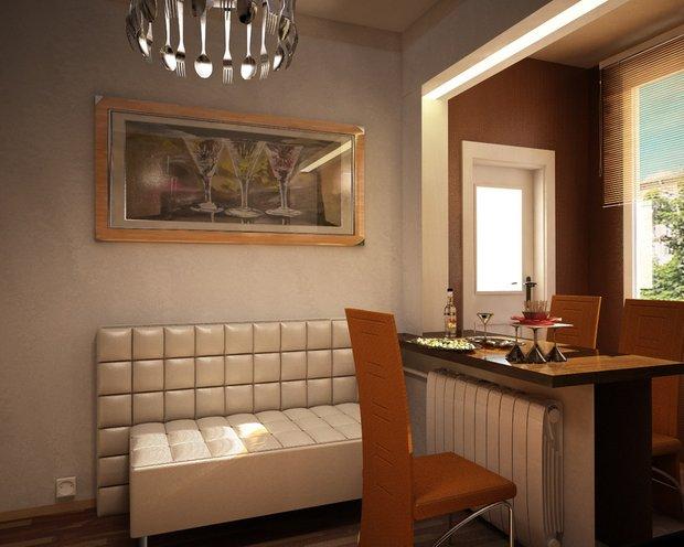 Фотография: Кухня и столовая в стиле Современный, Малогабаритная квартира, Квартира, Дома и квартиры, IKEA, Ремонт, П-111М – фото на INMYROOM
