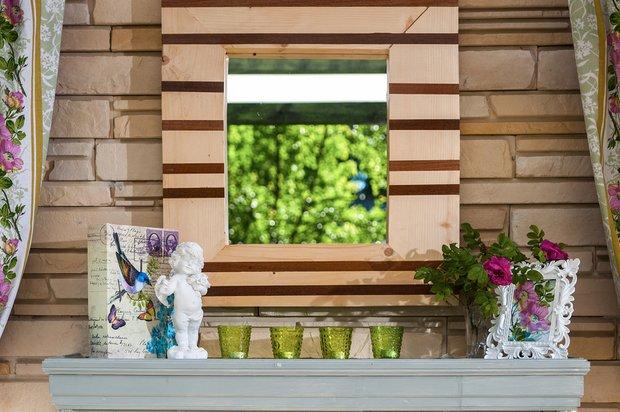 Фотография: Балкон, Терраса в стиле Прованс и Кантри, Кухня и столовая, Дом, Дома и квартиры, Камин, Беседка – фото на INMYROOM