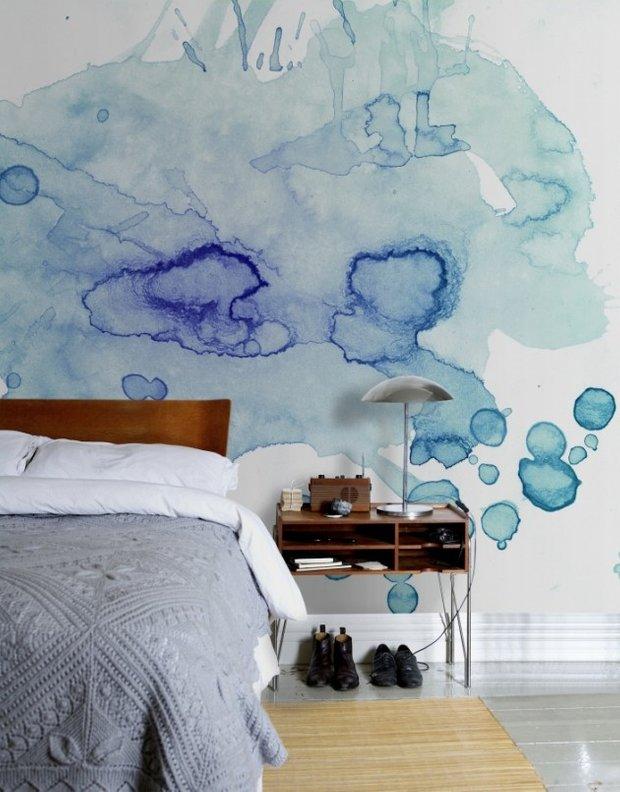 Фотография: Спальня в стиле Скандинавский, Декор интерьера, Декор дома, Стена – фото на INMYROOM