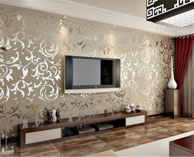 Фотография: Гостиная в стиле Современный, Стиль жизни, Советы, Обои – фото на INMYROOM
