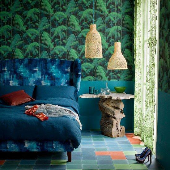 Фотография: Спальня в стиле Эклектика, Декор интерьера, Дизайн интерьера, Цвет в интерьере, Черный – фото на INMYROOM