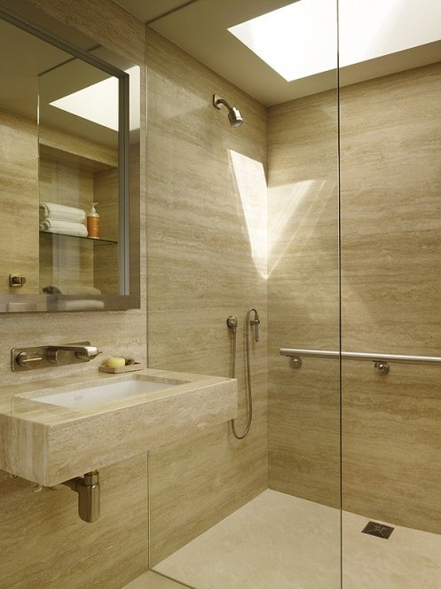 Фотография: Ванная в стиле Скандинавский, Современный, Интерьер комнат – фото на INMYROOM