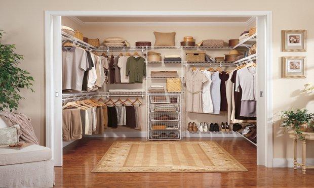 Фотография: Гардеробная в стиле Классический, Советы, гардеробная в квартире – фото на INMYROOM