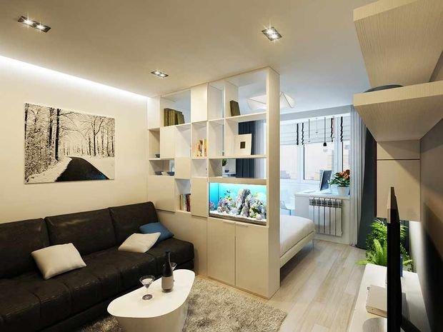 Фотография: Спальня в стиле Восточный, Декор интерьера, Малогабаритная квартира, Квартира, Студия, Планировки, Мебель и свет – фото на INMYROOM