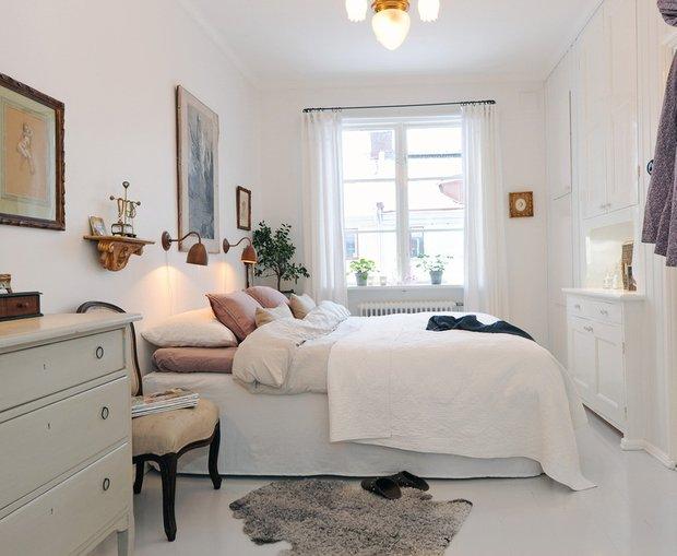 Фотография: Спальня в стиле Скандинавский, Декор интерьера, Интерьер комнат – фото на INMYROOM