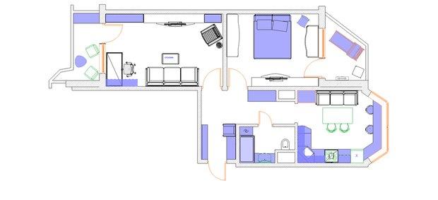 Фотография: Планировки в стиле , Квартира, Дома и квартиры, Перепланировка, П44т – фото на INMYROOM