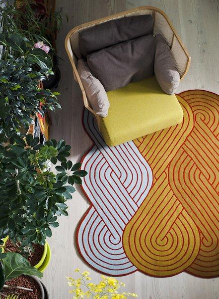 Фотография: Декор в стиле Современный, Декор интерьера, Мебель и свет, Цвет в интерьере, Ковер – фото на InMyRoom.ru