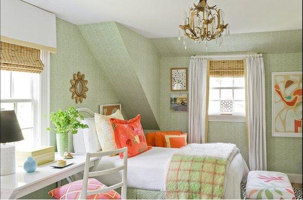 Фотография: Спальня в стиле Классический, Современный, Восточный, Декор интерьера, Цвет в интерьере, Индустрия, Новости, Маркет, Черный, Красный, Зеленый, Желтый – фото на INMYROOM