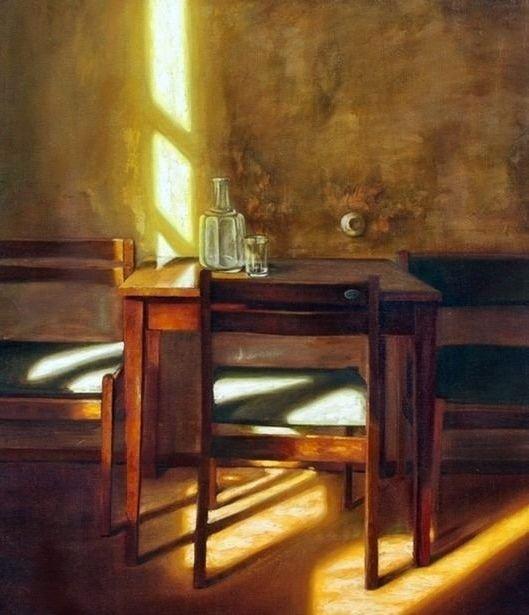 Коротков Степан Федорович (Россия, 1956) «В гостинице ЦИПК» 1989