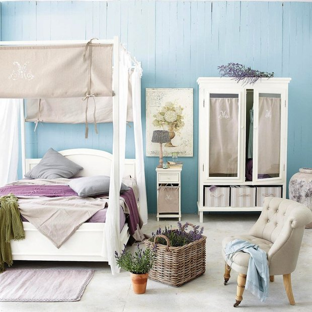 Фотография: Спальня в стиле Скандинавский, Декор интерьера, Мебель и свет, Балдахин – фото на INMYROOM