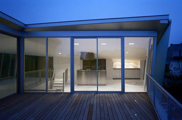 Фотография: Балкон, Терраса в стиле Современный, Декор интерьера, Дом, Дома и квартиры, Архитектурные объекты – фото на INMYROOM