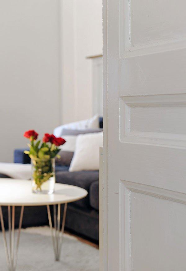 Фотография: Гостиная в стиле Скандинавский, Современный, Малогабаритная квартира, Квартира, Швеция, Мебель и свет, Дома и квартиры, Гетеборг – фото на INMYROOM