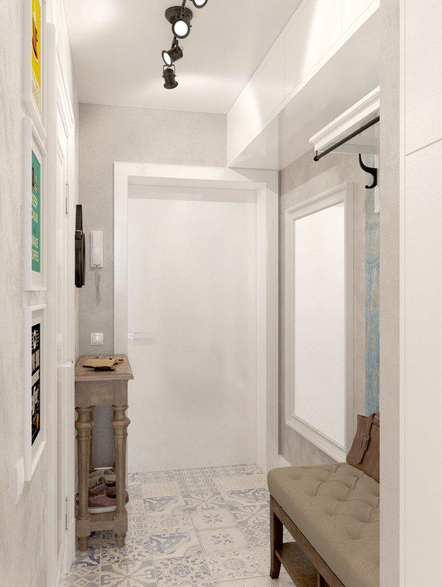 Фотография: Прихожая в стиле Скандинавский, Малогабаритная квартира, Квартира, Дома и квартиры, Проект недели – фото на INMYROOM