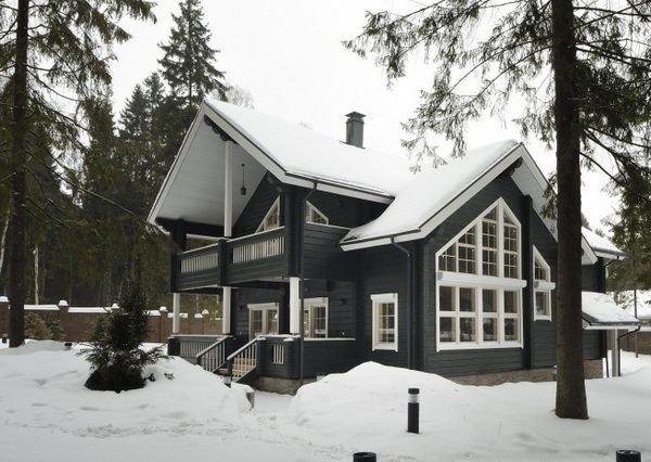 Фотография:  в стиле , Советы, Дом и дача, строительство скандинавского дома, утепление загородного дома – фото на INMYROOM