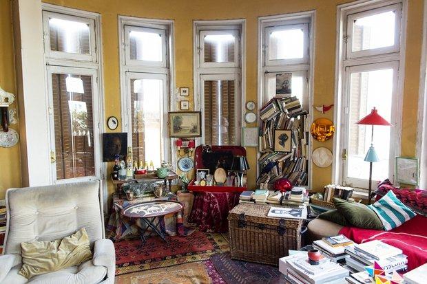 Фотография: Гостиная в стиле Эклектика, Советы, уборка – фото на INMYROOM