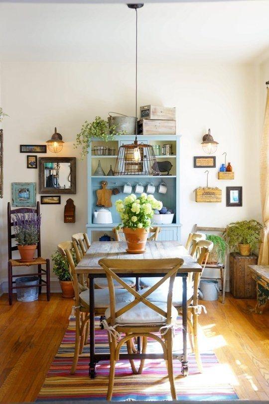 Фотография:  в стиле , Прованс и Кантри, Декор интерьера, Советы, Гид, как оформить квартиру в стиле кантри, стиль кантри, кантри в городской квартире – фото на INMYROOM