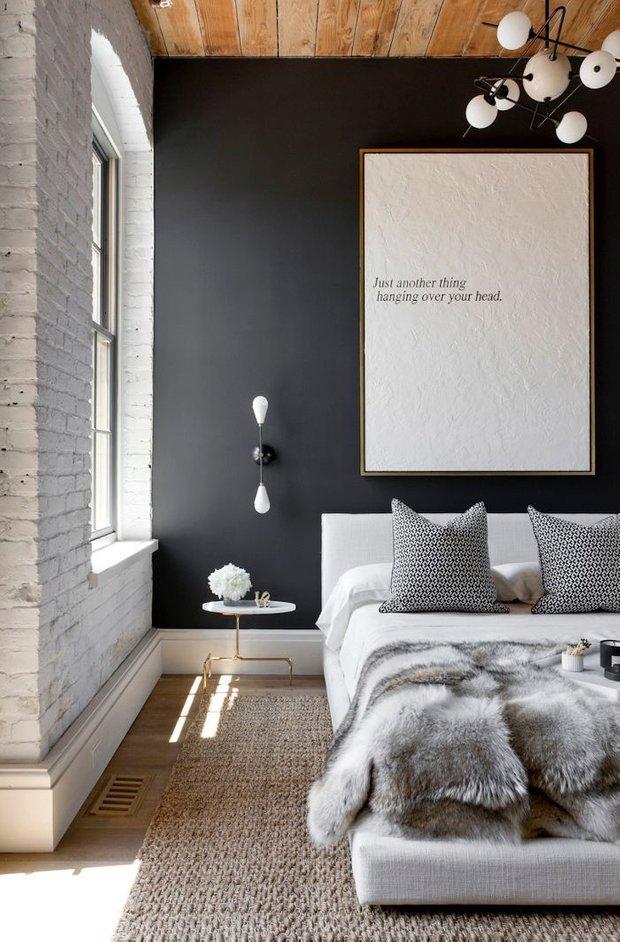 Фотография: Гостиная в стиле Современный, Прованс и Кантри, Лофт, Скандинавский, Декор, Советы, Ремонт на практике, кирпич в интерьере, покраска кирпичной стены, кирпичная стена, кирпичная стена в интерьере, краска для кирпичной стены – фото на INMYROOM