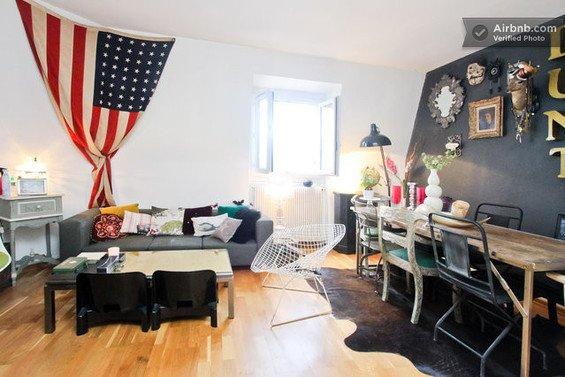 Фотография: Мебель и свет в стиле Лофт, Декор интерьера, Малогабаритная квартира, Квартира, Дома и квартиры, Airbnb – фото на INMYROOM