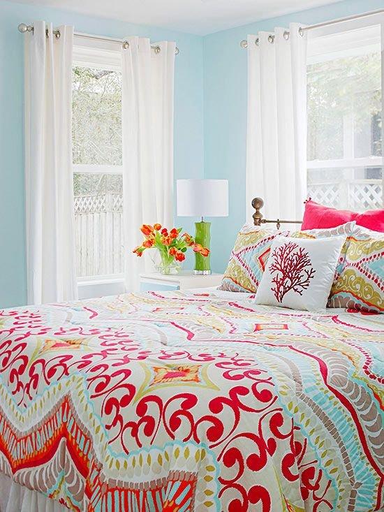 Фотография: Спальня в стиле Скандинавский, Декор интерьера, Дизайн интерьера, Цвет в интерьере – фото на INMYROOM