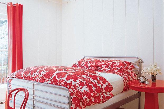 Фотография: Спальня в стиле Прованс и Кантри, Дом, Дома и квартиры, Интерьеры звезд – фото на INMYROOM
