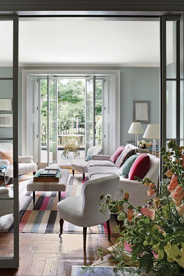 Фотография: Гостиная в стиле Прованс и Кантри, Декор интерьера, Дом, Дача – фото на INMYROOM