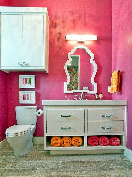 Фотография: Ванная в стиле Восточный, Декор интерьера, Мебель и свет, Светильник – фото на INMYROOM