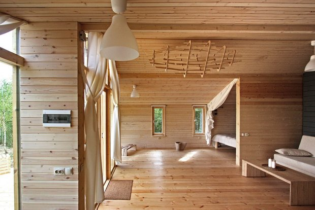Фотография: Спальня в стиле Лофт, Эко, Дом, Архитектура – фото на INMYROOM