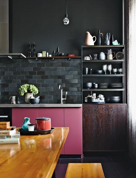 Фотография: Кухня и столовая в стиле Лофт, Эклектика, Малогабаритная квартира, Квартира, Дома и квартиры – фото на INMYROOM