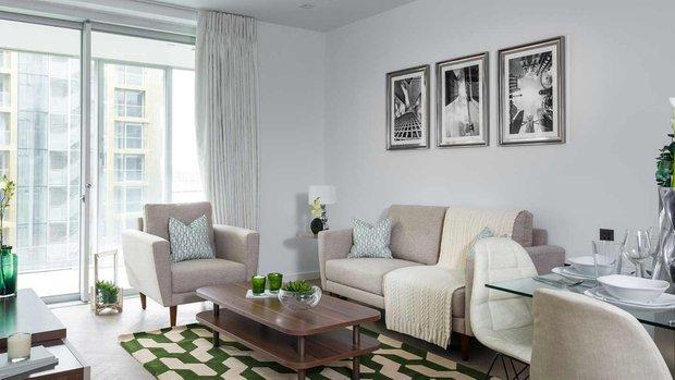 Фотография: Гостиная в стиле Современный, Гид, Co:Interior, Flatplan – фото на INMYROOM