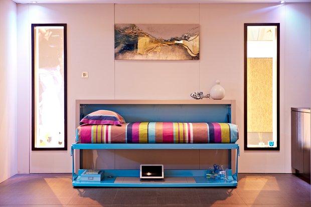 Фотография: Спальня в стиле Современный, Малогабаритная квартира, Квартира, Стиль жизни, Советы – фото на InMyRoom.ru