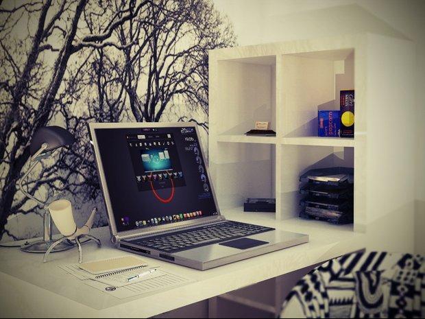 Фотография: Офис в стиле Скандинавский, Малогабаритная квартира, Квартира, Дома и квартиры, IKEA, Ремонт, П-111М – фото на INMYROOM